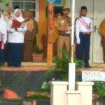 Pelaksanaan Upacara Bendera Selaku Pembina Bapak Camat Sungayang